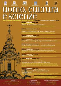 Locandina Uomo Cultura Scienze 2016-2017